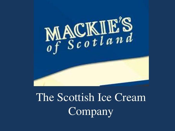 The Scottish Ice Cream Company <br />