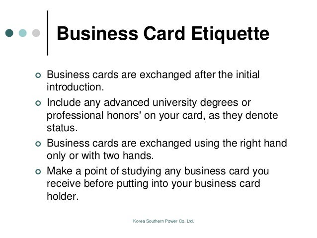 Business manners of pakistani people business card reheart Gallery