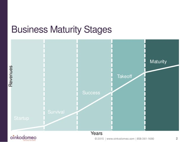 Business maturity stages
