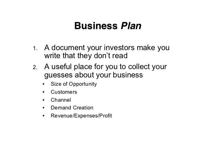 Business Model for Startups Slide 3
