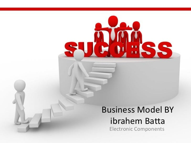 Business Model BY  ibrahem Batta Electronic Components