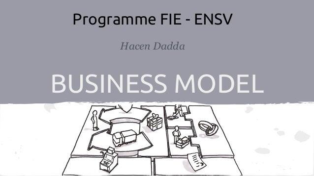 BUSINESS MODEL Hacen Dadda Programme FIE - ENSV