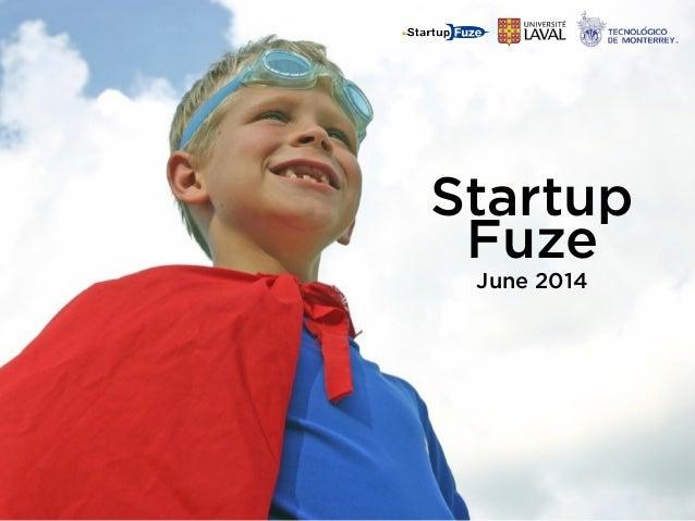 Startup Fuze June 2014