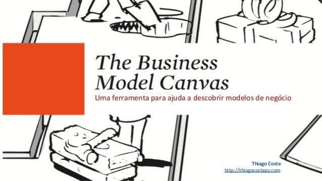 Uma ferramenta para ajuda a descobrir modelos de negócio Thiago Costa http://thiagocostapy.com