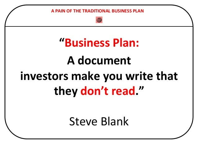 The 4 Types of Business Plans