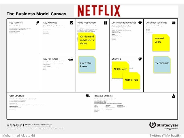 The business model of netflix essay