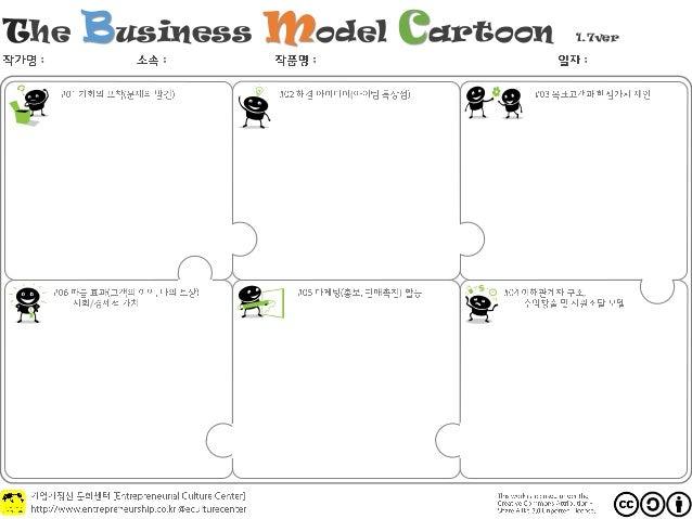 The Business Model Cartoon 1.7ver : : : : ( ,) /