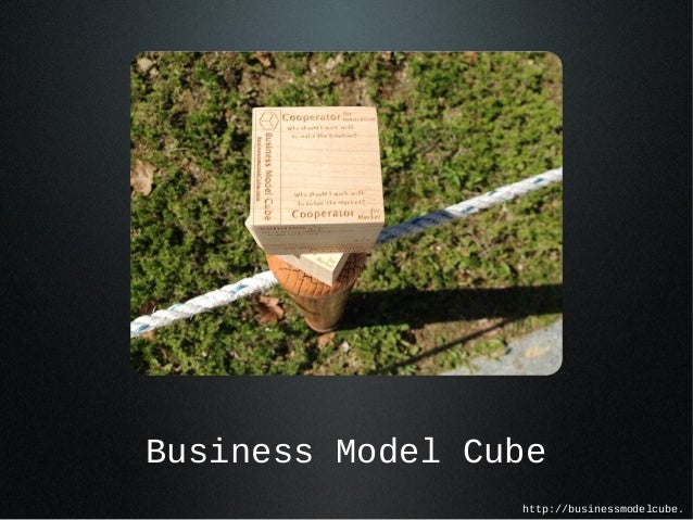 Business Model Cube http://businessmodelcube.