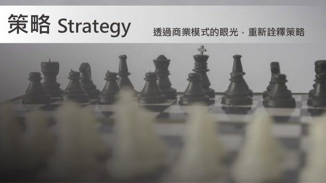 策略 Strategy 透過商業模式的眼光,重新詮釋策略