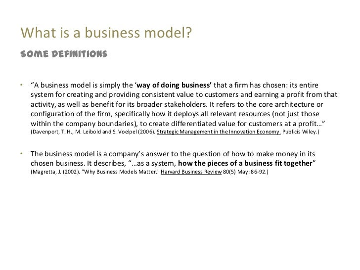 consider the business model essay Why google's business model works consider the strategy google has pursued to expand its access to the user data it depends on to support its targeted ad platform.