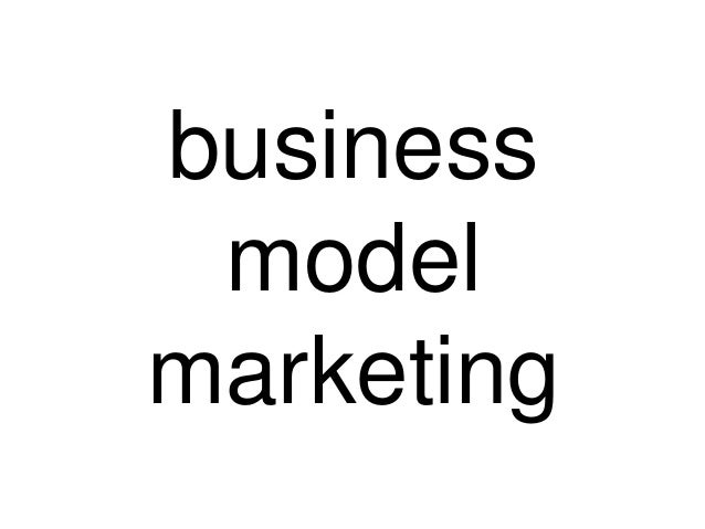 business model marketing