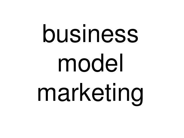 business model marketing