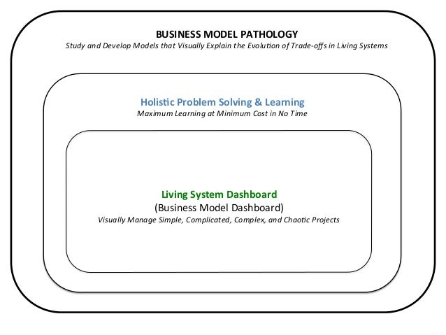 BUSINESS  MODEL  PATHOLOGY   Study  and  Develop  Models  that  Visually  Explain  the  Evolu6on  ...
