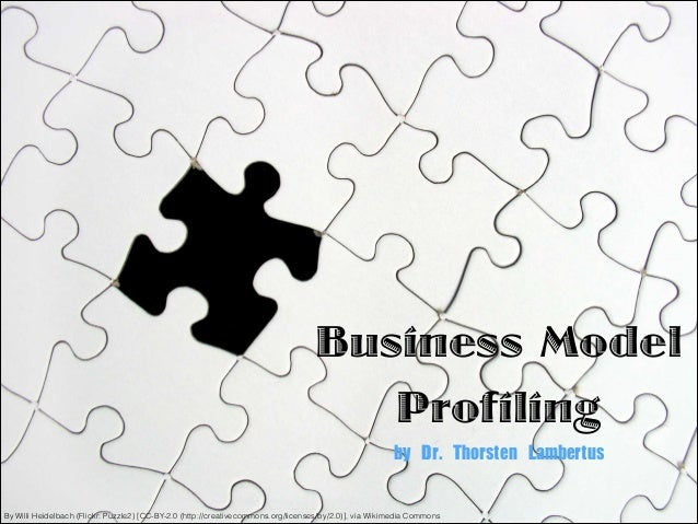 Business Model Profiling by Dr. Thorsten Lambertus By Willi Heidelbach (Flickr: Puzzle2) [CC-BY-2.0 (http://creativecomm...