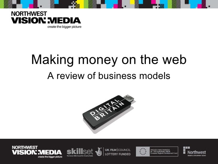 Making money on the web A review of business models