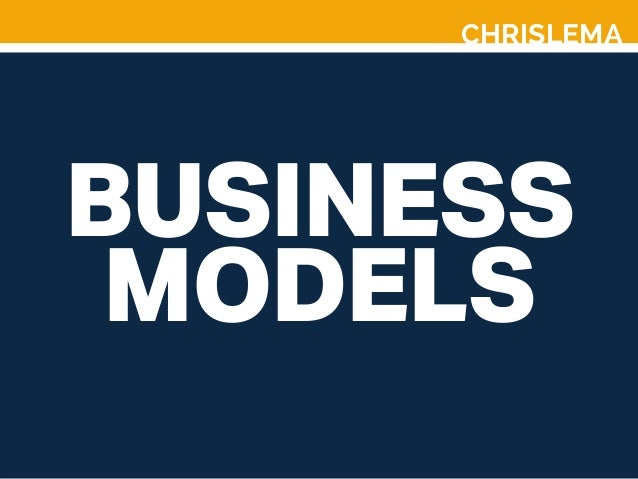 CHRISLEMA BUSINESS MODELS