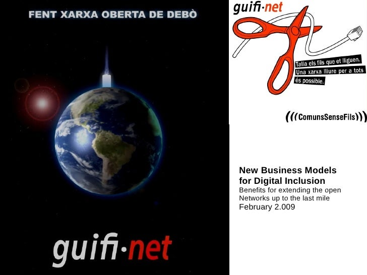 New business Models for Digital           Inclusion, February'09     New Business Models for Digital Inclusion Benefits fo...