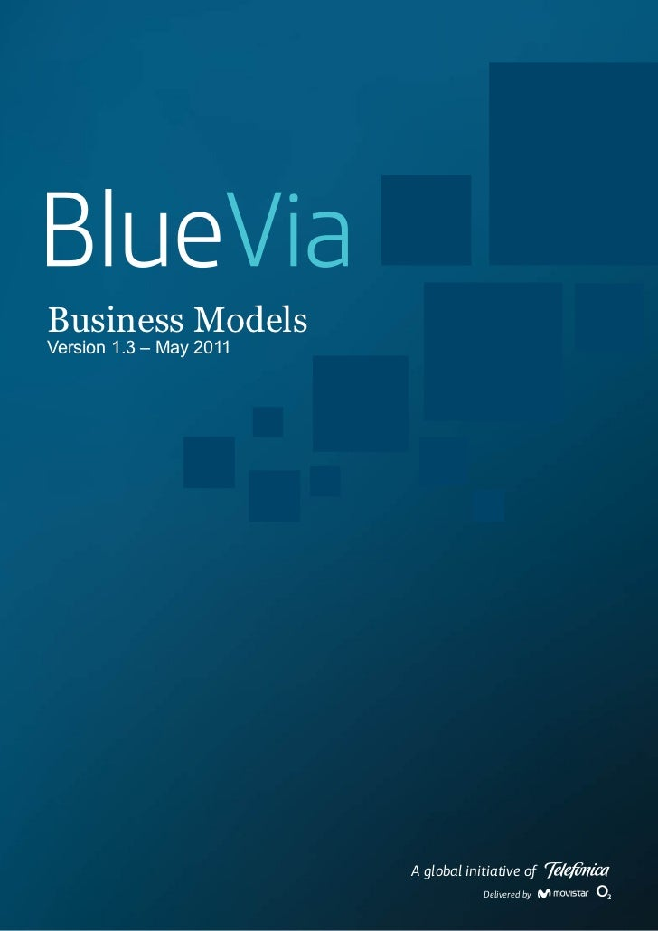 Business ModelsVersion 1.3 – May 2011                         A global initiative of                                     D...