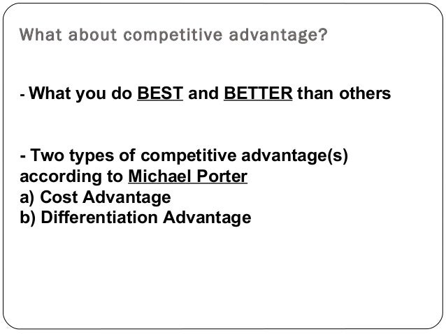 competitive advantage and entrepreneurial power 5 ways entrepreneurs can gain a competitive can gain a competitive advantage proof ways to gain a competitive advantage as an entrepreneur: 1.