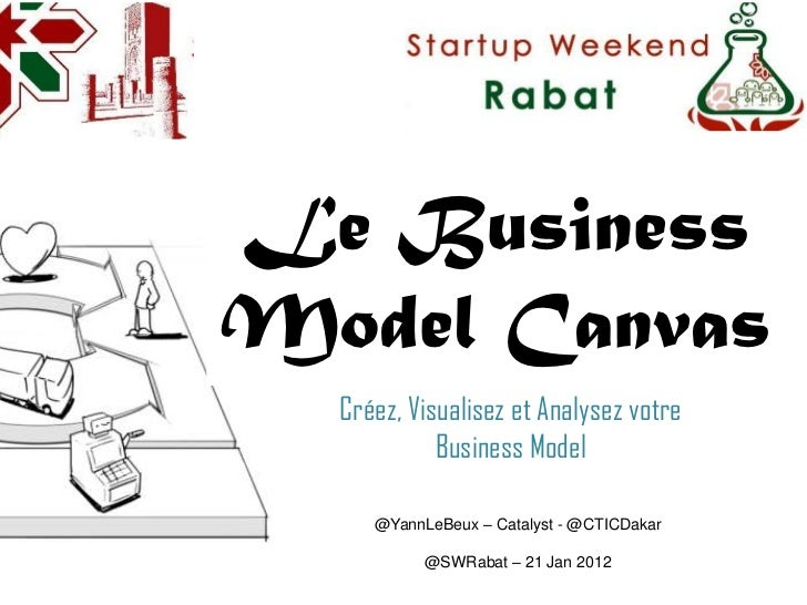 Le BusinessModel Canvas  Créez, Visualisez et Analysez votre            Business Model     @YannLeBeux – Catalyst - @CTICD...