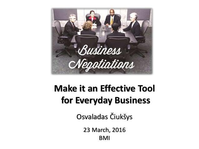 Make it an Effective Tool for Everyday Business Osvaladas Čiukšys 23 March, 2016 BMI 1