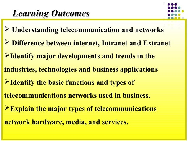 Business networks and telecomunication