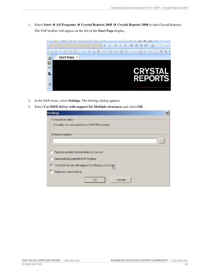 crystal studies 2008