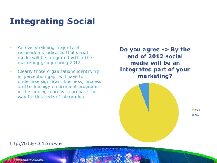 Integrating Social   An overwhelming majority of    respondents indicated that social                                    ...