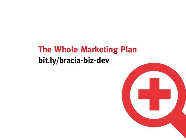 The Whole Marketing Planbit.ly/bracia-biz-dev