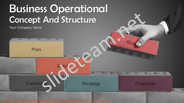 Business operational concept and structure powerpoint presentation pp business operational concept and structure your company name instructions to download this editable ppt presentation are executive summary template toneelgroepblik Image collections
