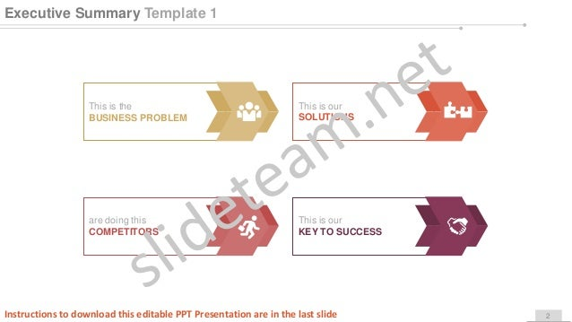 business operational concept and structure powerpoint presentation pp…, Executive Summary Ppt Template, Powerpoint templates