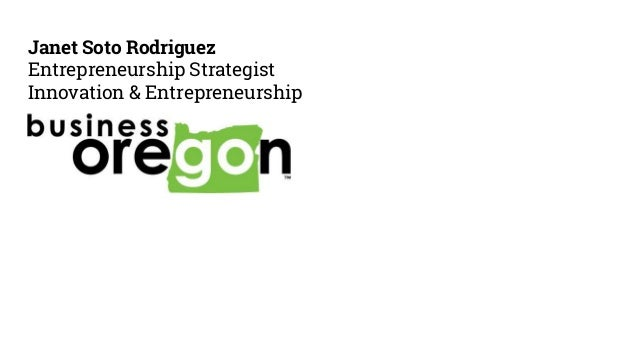 Janet Soto Rodriguez Entrepreneurship Strategist Innovation & Entrepreneurship