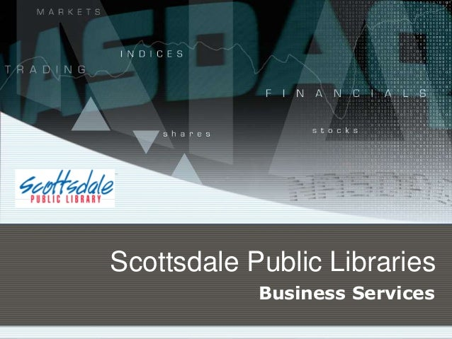 Scottsdale Public Libraries Business Services