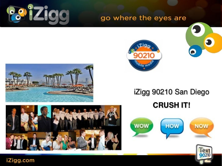 iZigg 90210 San Diego     CRUSH IT!