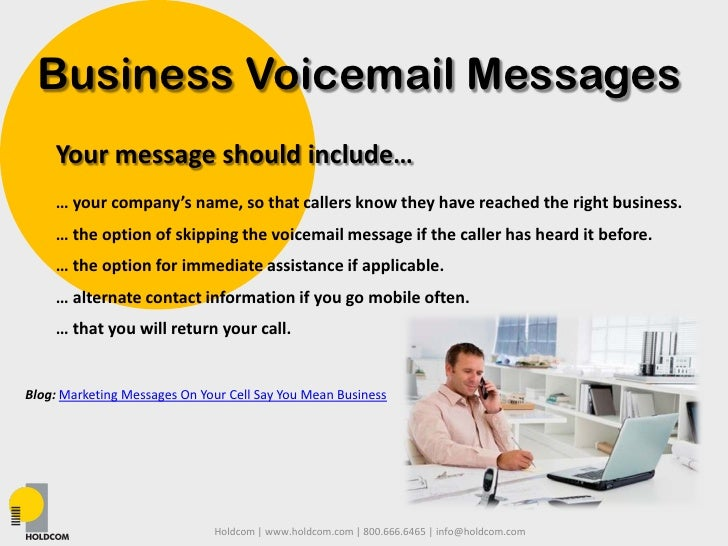 Business and personal professional voicemails 4 business voicemail messages your message m4hsunfo Image collections
