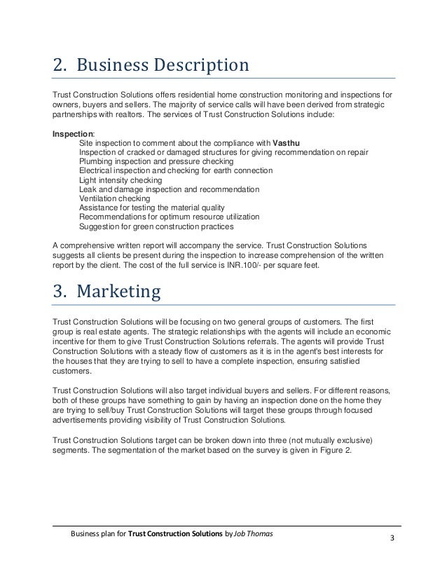 A Sample Private Tutoring Business Plan Template