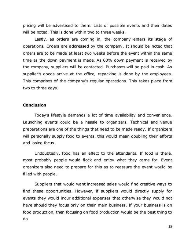 sample business plan for kakanin