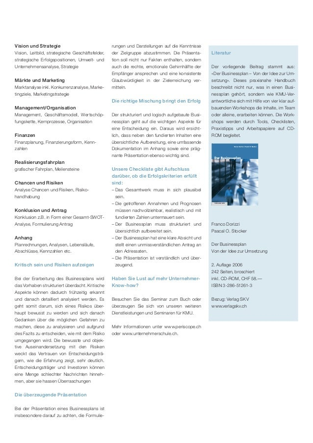 Businessplan Slide 3