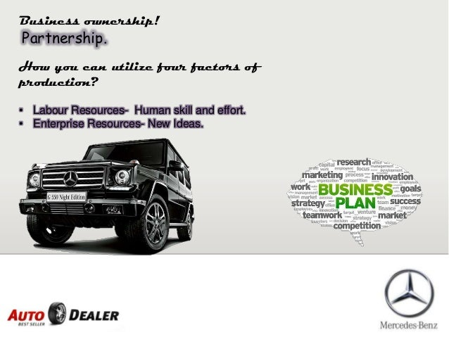 Car Dealer Business Plan