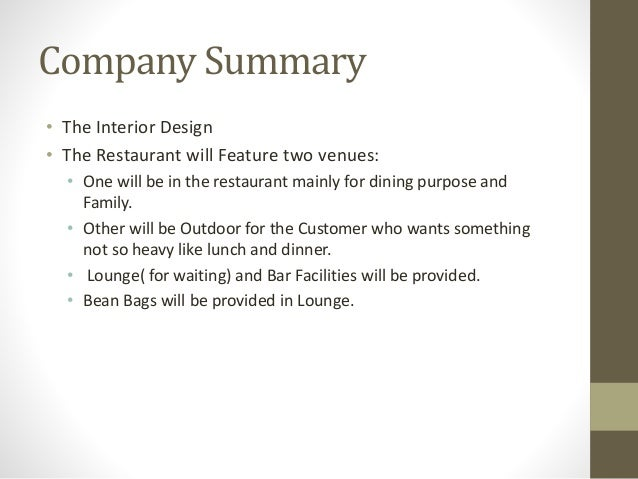7. Company Summary U2022 The Interior Design ...
