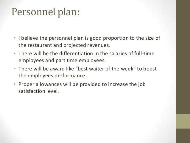 sample business plan restaurant .ppt
