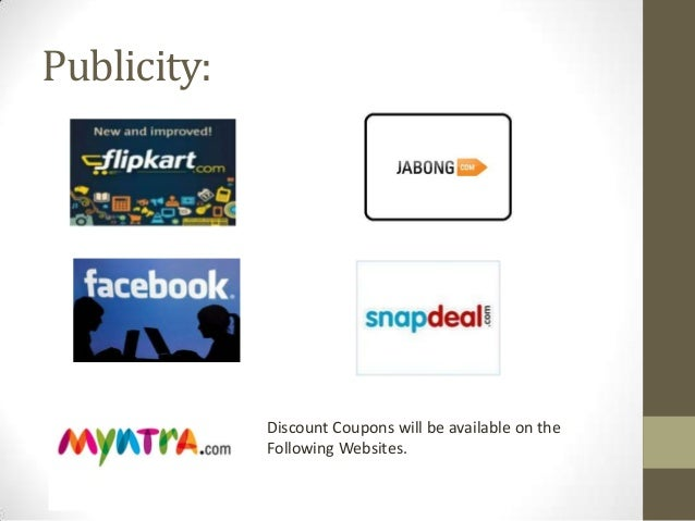 Publicity:  Discount Coupons will be available on the Following Websites.