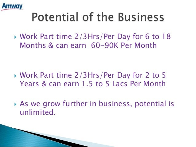 amway india business plan powerpoint presentation 2015 free