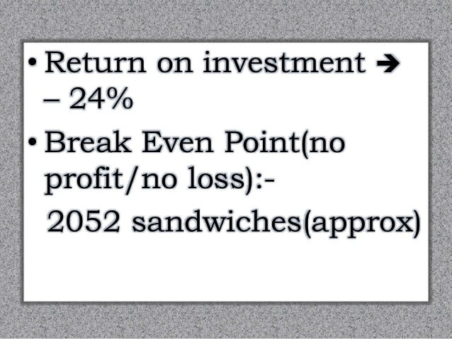 sandwich business plan Use this free pizza business plan to create the best pizzeria restaurant or shop in  town that's also a thriving, profitable business includes market analysis.