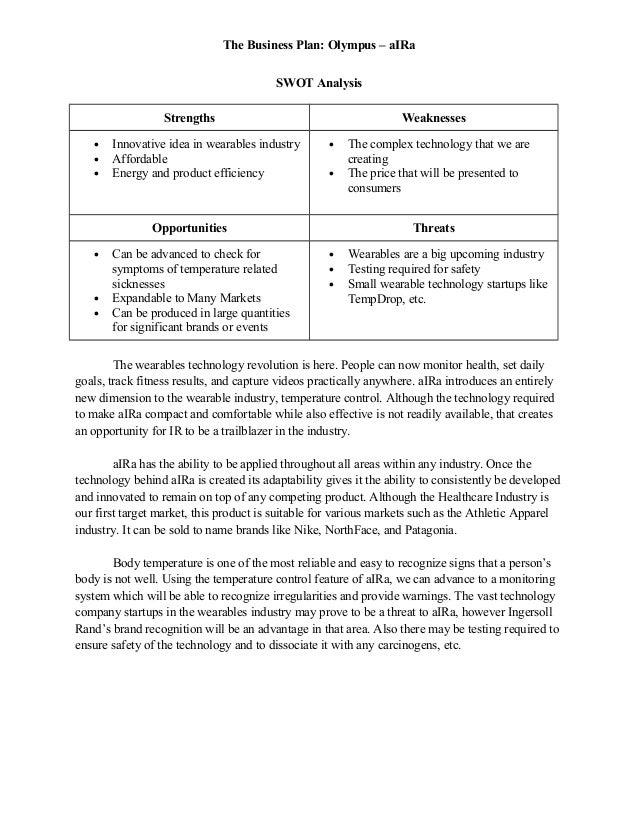 Olympus Company Analysis Most of&nbspCapstone Project