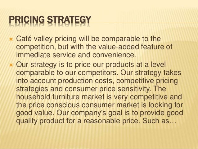 pricing tactic industry method example