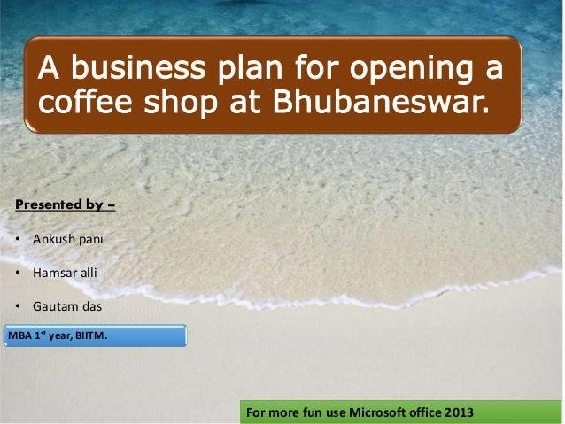 microsoft office business plan