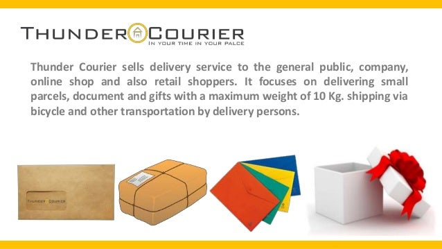 how to start a courier business pdf