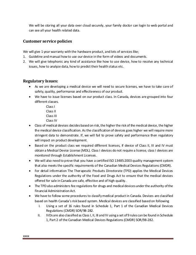 clinic business plan pdf