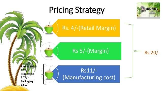 Business plan On carbonated Tender coconut water -BAJEL